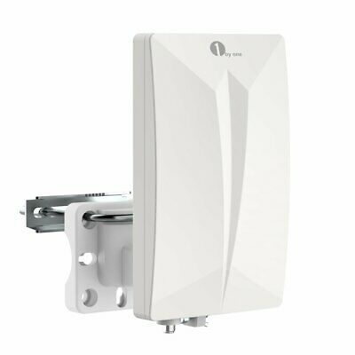 1byone HDTV Antenna Aerial Digital TV Signal Amplified Booster Indoor Amplifier