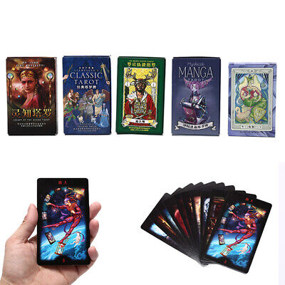 Tarot Cards Mysterious Divination Playing Cards Game for English/Chinese Versi '