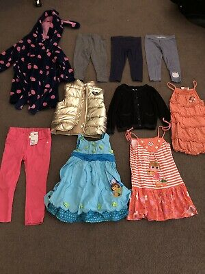 10 Mixed Items Of Toddler Girl Clothing Size 2 1 4 5 Target