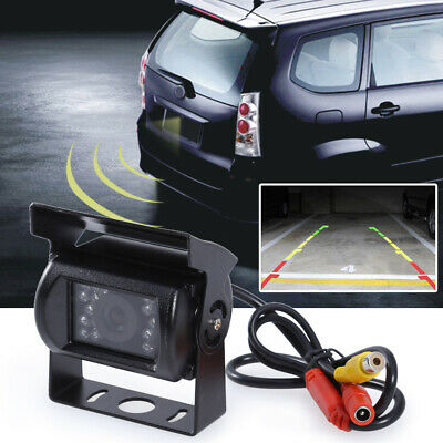 Car Rear View Reverse 18 LED IR REVERSING CAMERA Waterproof Night Vision 12 #VIC