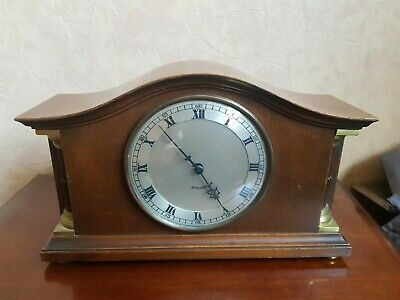 English Vintage Rotherham Mantle Clock Booths distilleries limted D.C.L G.Dovey