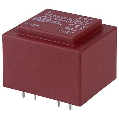 Vigortronix VTX-121-3015-212 Encapsulated PCB Transformer 230V 1.5VA 0-12V