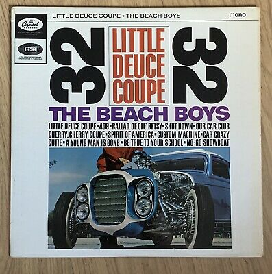 The Beach Boys/Little Deuce Coupe Mono LP UK Issue