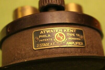 Atwater Kent Type T. A. 2 Stage A.F. Amplifier for Breadboard Radio, 1920s,RARE!