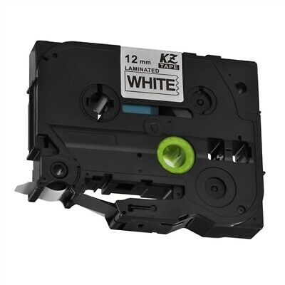 Compatible Brother TZE 231 12MM Black on white Label Tape Printer P-Touch