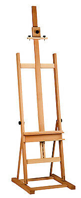 BEECH WOOD  STUDIO EASEL 6ft (1720-2950 MM HIGH) ARTIST ART CRAFT DISPLAY WOODEN