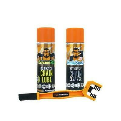 Tru-Tension Chain Monkey Chain Cleaner Tool Chain Lube Chain Cleaner Bundle