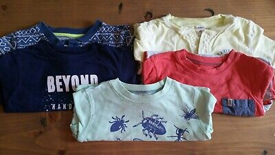 TODDLER BOY 4T lot of 5 tshirts Carters GUC/play
