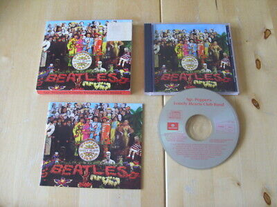 CD - The Beatles - Sgt. Pepper's Lonely Hearts Club Band (1992)