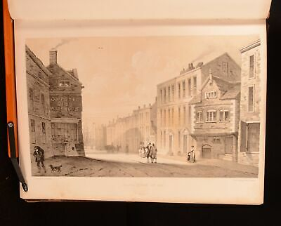 1857 Pictorial Relics of Ancient Liverpool W G Herdman Illustrated Scarce