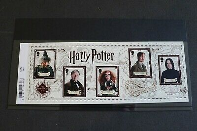 GB Stamps 2018 Harry Potter Miniature Sheet MS4151 MNH [Barcode]