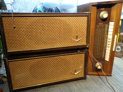 Estate* Vintage Grundig 5199We Tube Tabletop Radio Mystic Maestro Speakers