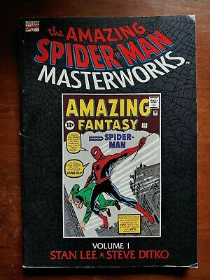Amazing Spider-Man Masterworks Vol 1 Ditko Covers Af # 15, Asm # 1-5 Fn+ 1992