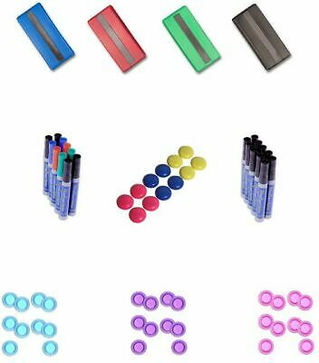Magnete 30mm Wählbar Schwamm Whiteboard Marker Boardmarker Whiteboardmarker Set