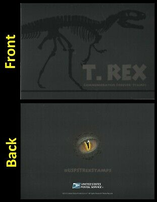 US 5410-5413 T.Rex Tyrannosaurus First Day of Issue Ceremony Invitation 2019
