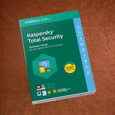 KASPERSKY TOTAL SECURITY   2PC  für 2019 / 2020
