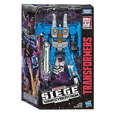 Transformers Generations War for Cybertron: Siege Voyager Class THUNDERCRACKER