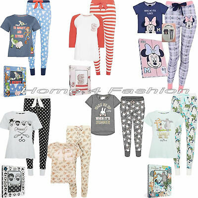 Primark Box Pyjamas Girls Women Harry potter PJ's Ladies Disney Pajamas NEW