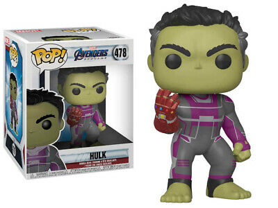 "Funko Pop! Marvel: Avengers Endgame - 6"" Hulk with Gauntlet"
