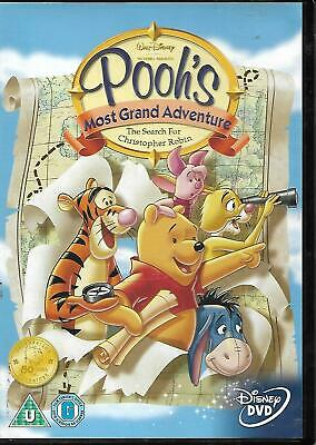Winnie The Pooh's Most Grand Adventure - The Search for Christopher Robin DVD