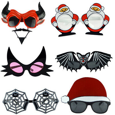 Funny Horror Mask Glasses Kids Gift Photo Booth Props Halloween Vintage Fashion