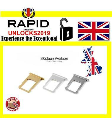 New Replacement Nano Sim Card Tray for Apple iPhone 6 / 6 plus Original Part
