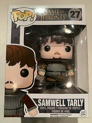 Funko Pop! Samwell Tarly  Castle Black #27 Game Of Thrones VAULTED