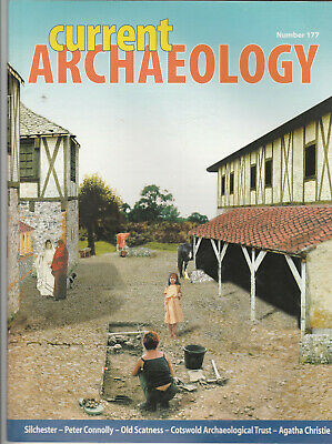 CURRENT ARCHAEOLOGY Magazine January 2002 - Silchester, Peter Connolly