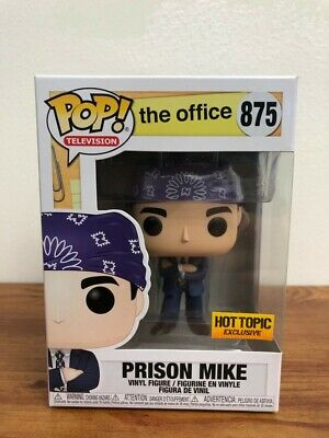 Funko Pop Television The Office - PRISON MIKE - HOT TOPIC Exclusive