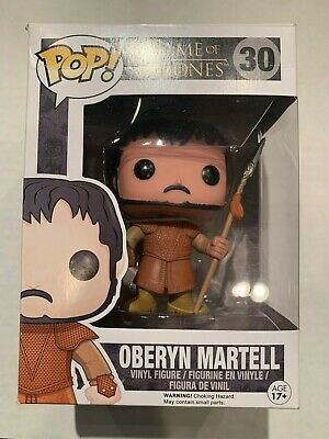 "Funko Pop Game of Thrones : Oberyn Martell #30 Vinyl ""MINT"" (Vaulted)"