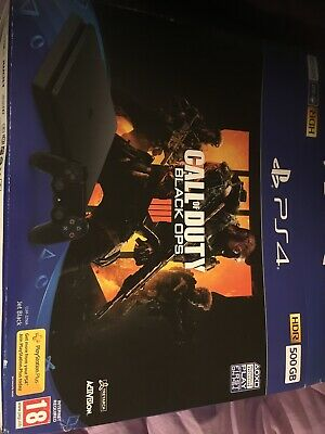 Sony PlayStation 4 500GB Call of Duty: Black Ops 4 Console Bundle - Jet Black