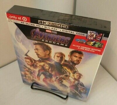 Avengers Endgame (4K Ultra HD+Blu-ray) Collector Digibook-NEW (Sealed) Free S&H~