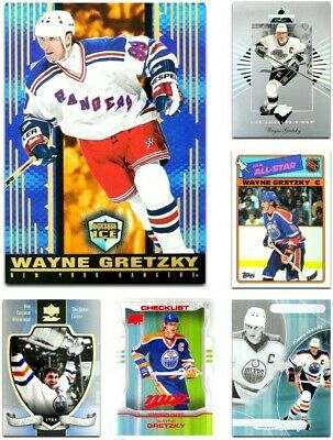 WAYNE GRETZKY Hockey Cards **** PICK YOUR CARD **** From The LIST (1987 to 2019)