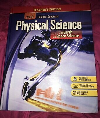 Holt Science Spectrum Physical Science TEACHER's EDITION HARDCOVER very Good