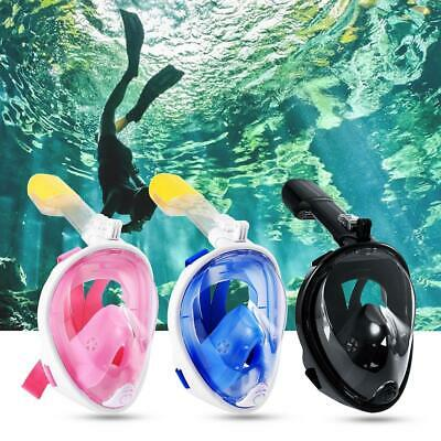 Seaview Snorkel Mask Full Face Wide 180° View Panoramic Compatible with F1AL 02