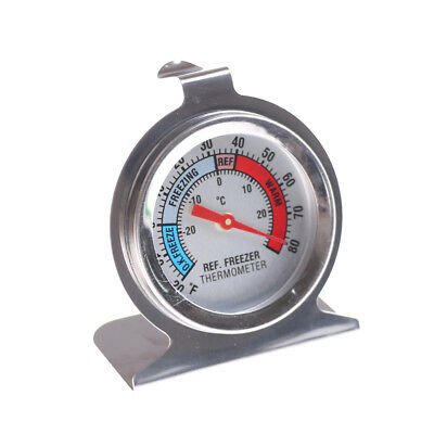 Stainless Steel Metal Temperature Refrigerator Freezer Dial Type ThermometerSC