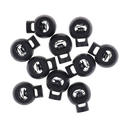 10pcs Shoe Lace Shoelace Buckle Rope Clamp Cord Lock Stopper Running Supplies_SH