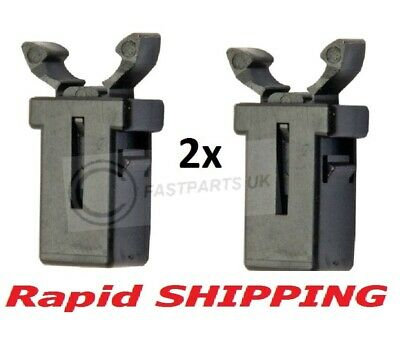 2 compatible Nissan Navara D40 Pathfinder Sunglasses Holder Catch Latch Clip