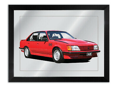 Bar Mirror Artwork Suit Holden Vh Ss Group Three Enthusiast