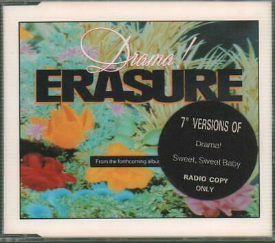 "Drama! Erasure 3"" CD single (CD3) UK promo CDMUTE89R MUTE 1989"