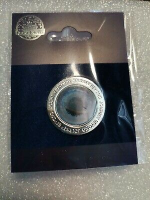 Official Alton Towers Pin Badge - GALACTICA 3D LOGO (2018) - Merlin BRAND NEW