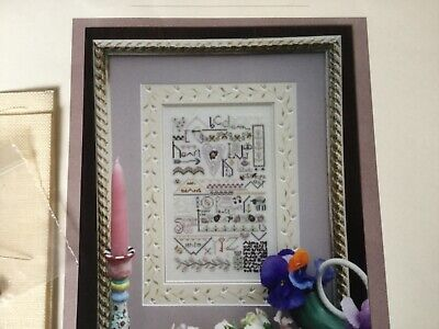 Counted cross stitch Kit - Thoughtful Heart Sampler