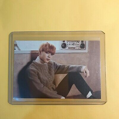 Jimin Official Photocard BTS 2nd Muster Zipcode : 22920 Card 1 Of 7 Kpop