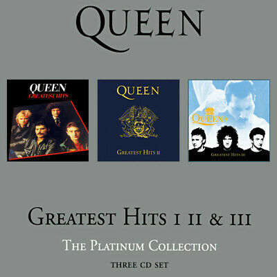 Queen – Greatest Hits I II & III (The Platinum Collection) CD