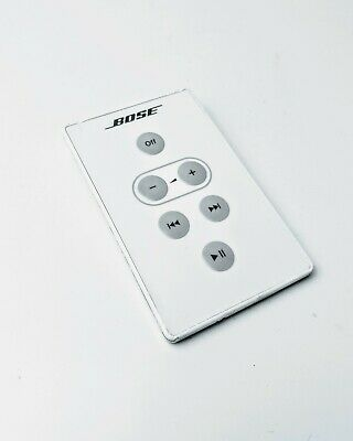 Genuine Original Bose Sounddock Docking Station Series 1 Remote Control - White
