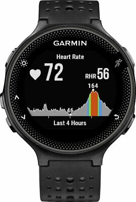 Garmin Forerunner 235 GPS Running Watch & Activity Tracker Black and Grey - (UD)