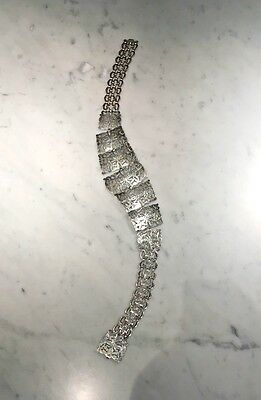 Beautiful Antique Victorian Art Nouveau EPNS/Silver Plated Nurses Belt 140 Gr