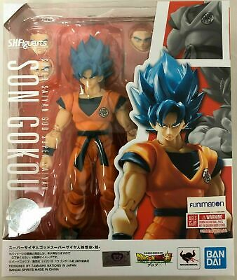 S.H. Figuarts Goku Super Saiyan God Dragon Ball Broly Bandai Figure IN STOCK USA