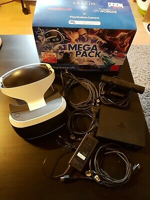 Sony PlayStation VR PS4 VR Megapack : Playstation VR2 + Camera (ohne Spiele)
