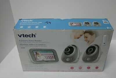 Vtech Safe & Sound Expandable Digital Video Baby Monitor with 2 Cameras